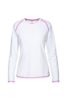 商品Trespass Womens/Ladies Hasting Long Sleeved Top (White)图片