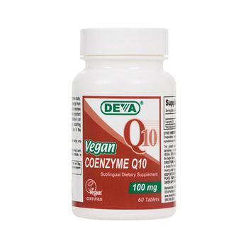 商品Deva Nutrition Vegan Coenzyme Q10 100 Mg Sublingual Tablets - 60 Ea图片