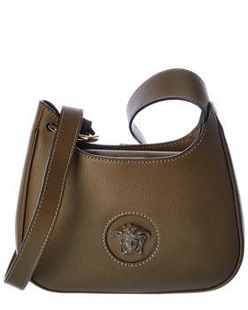 商品Versace La Medusa Small Leather Hobo Bag图片