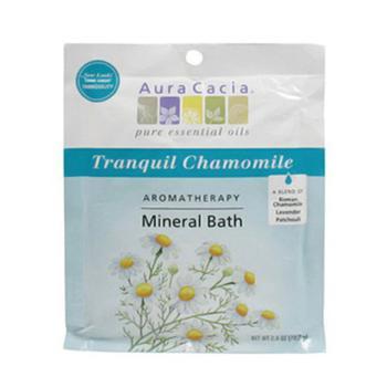 商品Aura Cacia Tranquility Aromatherapy Mineral Bath Spring Flower, 2.5 Oz图片