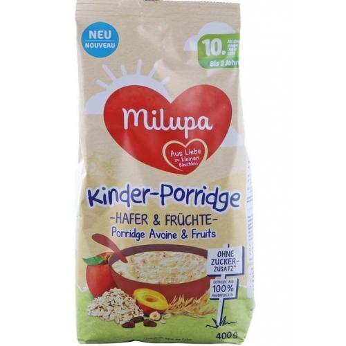 商品MILUPA Kinder-Porridge Hafer und Früchte 400g图片