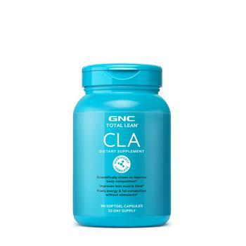 商品GNC Total Lean CLA | Improves Body Composition and Lean Muscle Tone, Fuels Energy and Fat Metabolism Without Stimulants | 90 Softgel Capsules图片