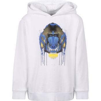 商品Ape logo hoodie in white图片