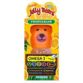 商品Jelly Bears Orange Omega 3 60gummies图片