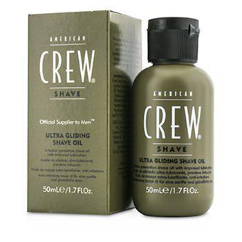 商品American Crew Mens Ultra Gliding Shave Oil 1.7 oz Skin Care 669316221785图片
