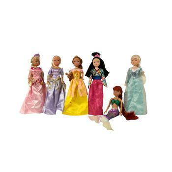 "商品11.5"" Princess Dolls Gift Set图片"