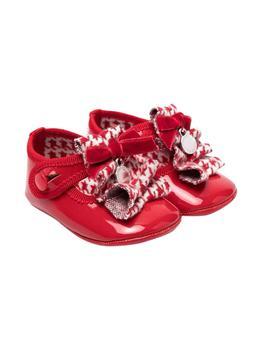 商品Monnalisa Red Baby Girl Ballet Flats图片