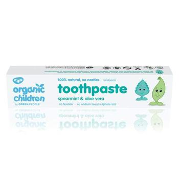 商品Green People Childrens Spearmint Toothpaste 50ml图片