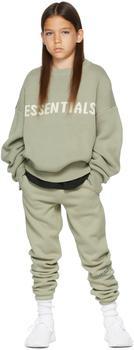 商品Kids Green Knit Sweater图片