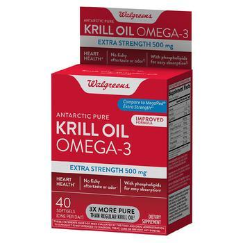 商品Antarctic Pure Krill Oil Omega-3 Extra Strength 500 mg图片