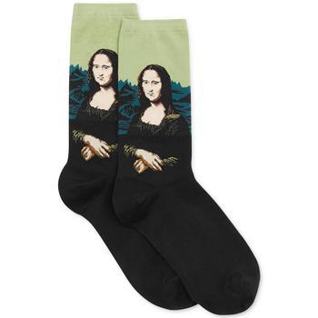 商品Hot Sox Women's Trouser with Artist Print Socks 艺术复古袜图片