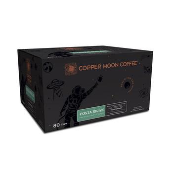 商品Single Serve Coffee Pods for Keurig K Cup Brewers, Costa Rican Blend, 80 Count图片