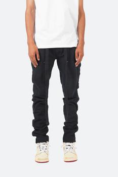 商品Snap Western Pants - Black裤图片