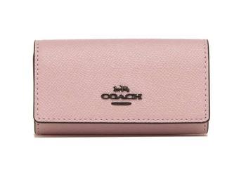 商品Coach Ladies Cross Grain Leather 6-Ring Key Case图片