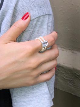 商品Go-go pearl ring, ICE图片