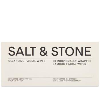 商品Salt & Stone Cleansing Facial Wipes图片