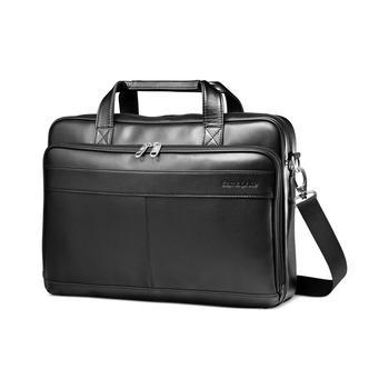 商品Leather Slim Portfolio Laptop 公文包图片