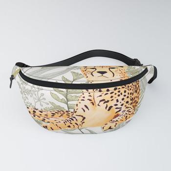 商品Vintage Cheetah Fanny Pack图片
