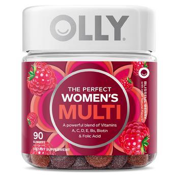 商品Olly 女士综合维生素 莓果口味 90粒图片