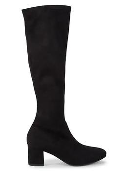 商品斯图尔特·韦茨曼 女士长筒靴 懒人鞋款式图片
