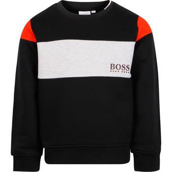 商品BOSS KIDS - Sweatshirt, Black, Boy, 10 yrs图片