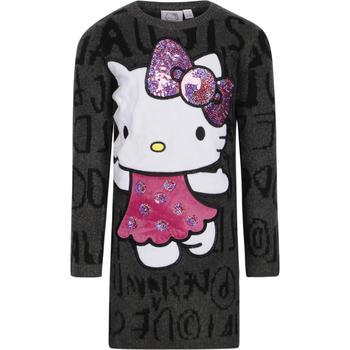 商品Hello kitty sweater dress in grey图片