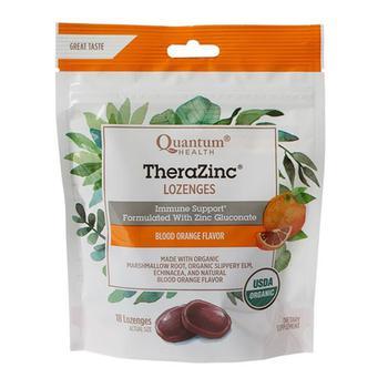 商品Thera Zinc Organic Therazinc Lozenges Blood Orange 18 Ea图片